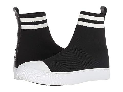 Neil Barrett Sports Stripe Techknit Sock Sneaker