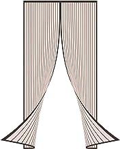 Magneetschermdeur Gordijn voor glazen schuifdeur, automatisch sluiten Magisch schermgaasgordijn Magnetische hordeur voor m...