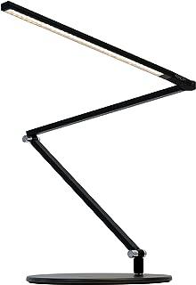 Koncept AR3200-W-MBK-DSK Z-Bar Slim LED Desk Lamp, Warm Light, Metallic Black