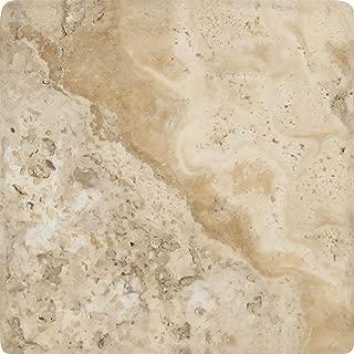 Meraki Tumbled Philadelphia Travertine Tile, 4 x 4