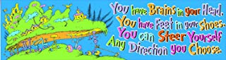 Eureka Dr. Seuss 'Oh the Places You'll Go' Colorful Back to School Motivational Banner Classroom Decoration, 12'' x 45 ''
