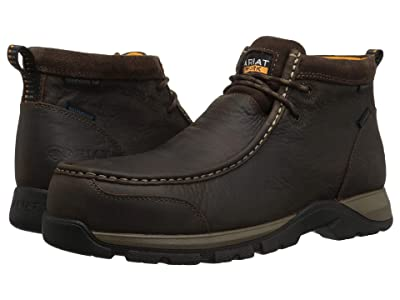 Ariat Edge LTE Moc Waterproof Composite Toe (Dark Brown) Men