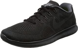 Nike Womens Free RN 2017 Running Shoe (7 B(M) US, Black/Anthracite Dark Grey)