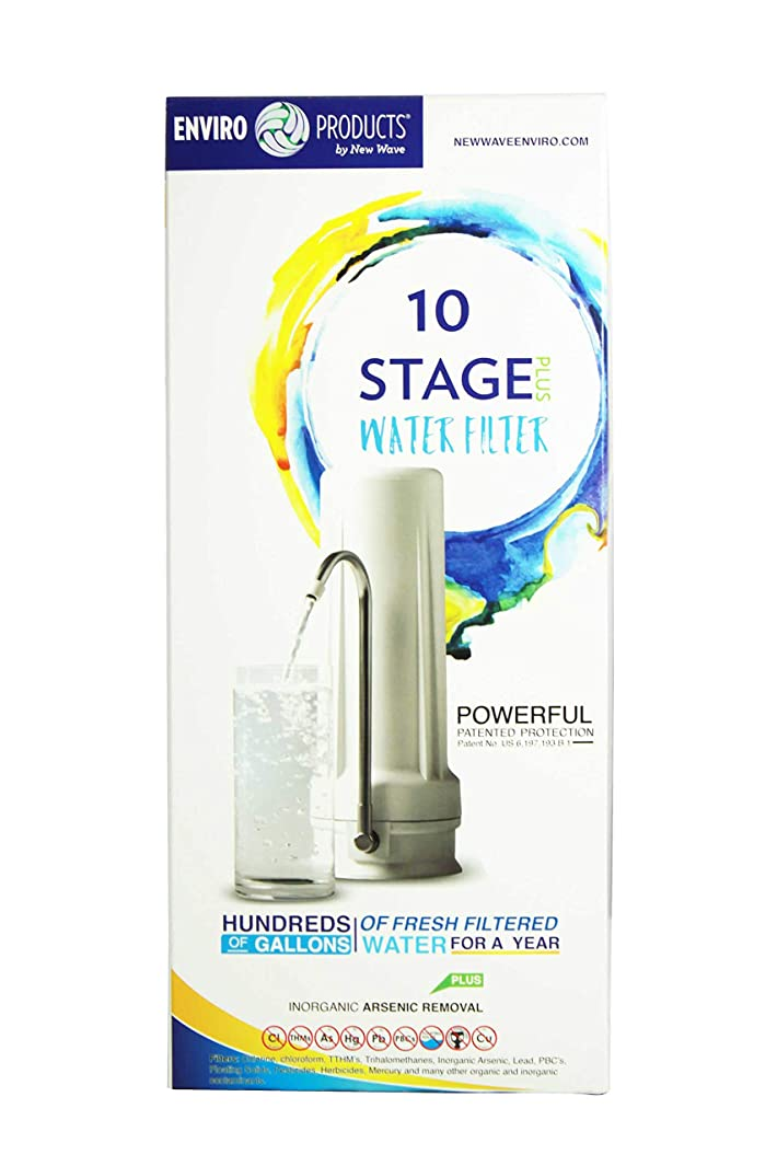 New Wave Enviro 10 Stage Plus Water Filter System and Cartridge