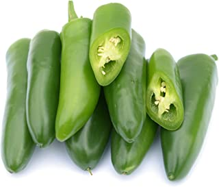 Jalepeno Tam Hot Peppers Seeds, 150+ Premium Heirloom Seeds!, 99.7% Purity, ON Sale!, (Isla's Garden Seeds), Non GMO Organic Survival Seeds,Highest Quality!