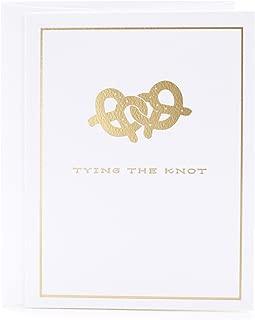 Hallmark Wedding Card (Pretzels)