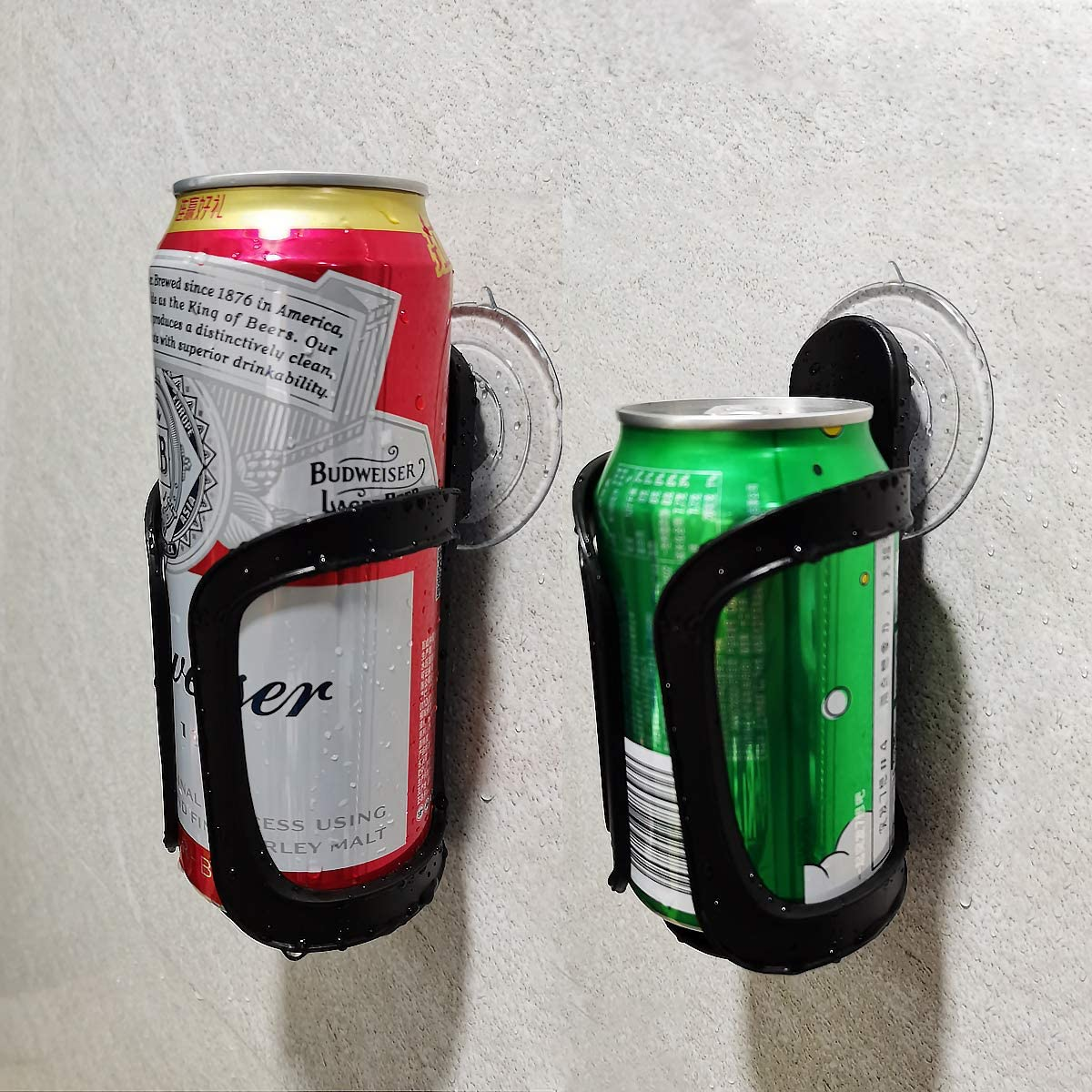 Seatery 2PCS El Paso Mall Beer Can Bottle Holder Shower Drink Tampa Mall Bathro