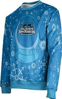 California State University San Marcos Ugly Holiday Unisex Sweater - Snow Globe