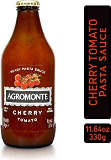 Agromonte Authentic Italian Cherry Tomato Pasta Sauce (Classic)- Taste of Italy Gourmet Foodie and Chef Gift - Ready to Use, Certified Kosher, Gluten-Free, All Natural 11.64oz (single)