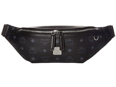MCM Fursten Visetos Belt Bag Medium (Black) Bags