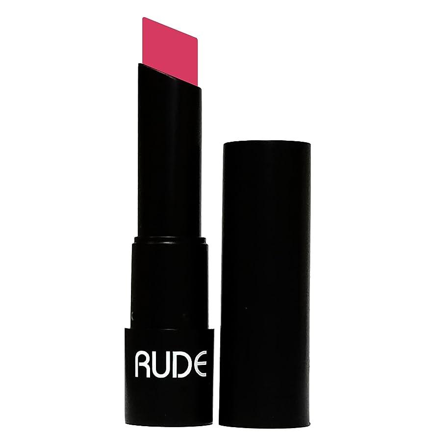 しっかり潮ラベル(3 Pack) RUDE Attitude Matte Lipstick - Bossy (並行輸入品)