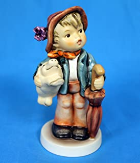 Hummel Goebel 335 - Lucky Boy Boy with pig and umbrella