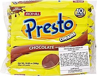 Jack N Jill Presto Creams Cookie Chocolate Pack of 10 - 30 gm