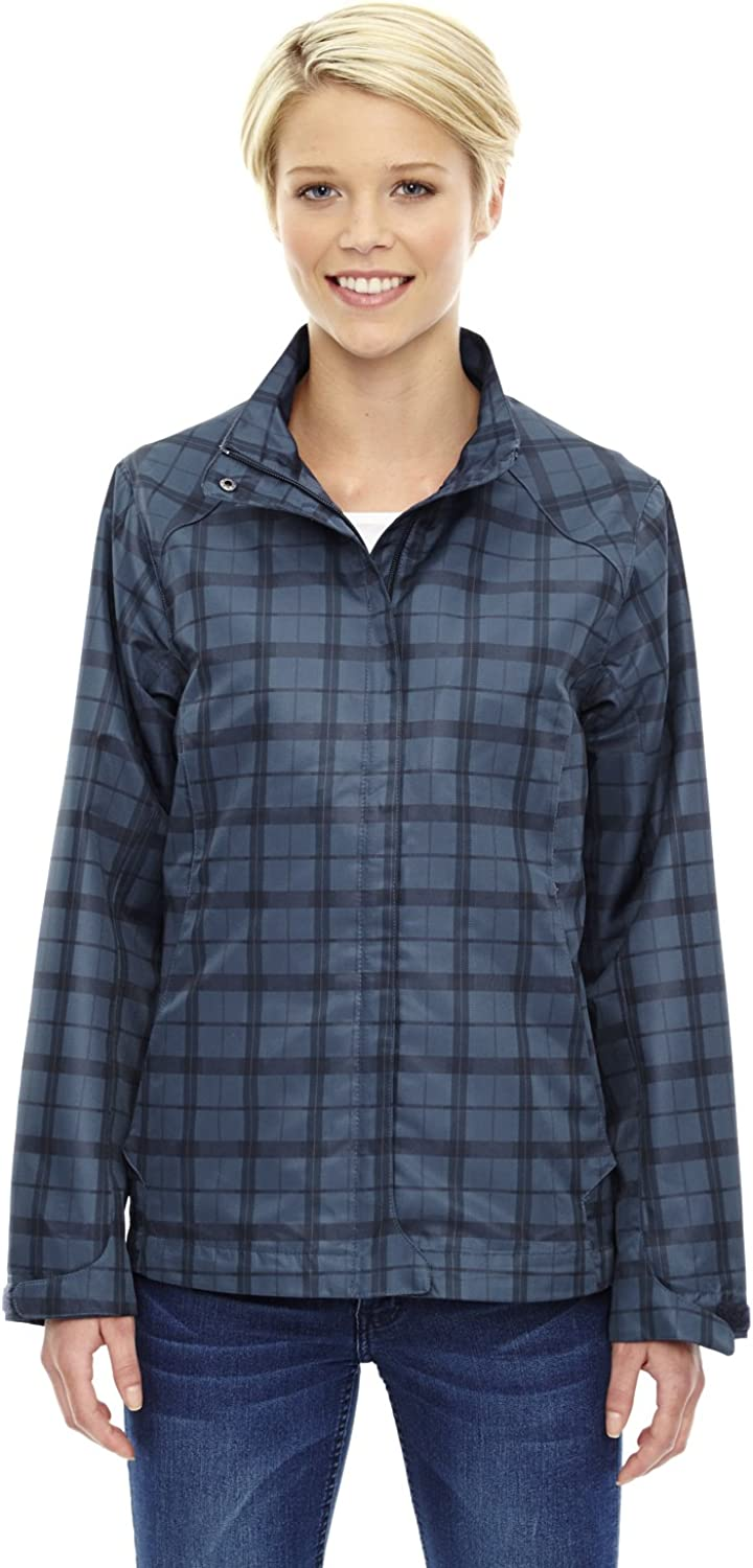 North End Sport blueee Locale Women's Lightweight City Plaid Jacket