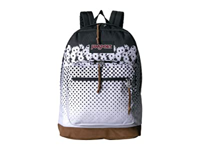 JanSport Right Pack Expressions (Floral Horizon Black) Backpack Bags