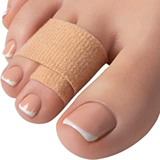 Hammer Toe Straightener Corrector Splint - 4 Broken Toe Wraps, Brace Orthopedic Separator, Cushioned Bandages