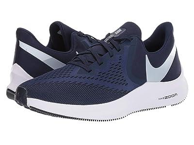 Nike Air Zoom Winflo 6 (Midnight Navy/Pure Platinum) Men