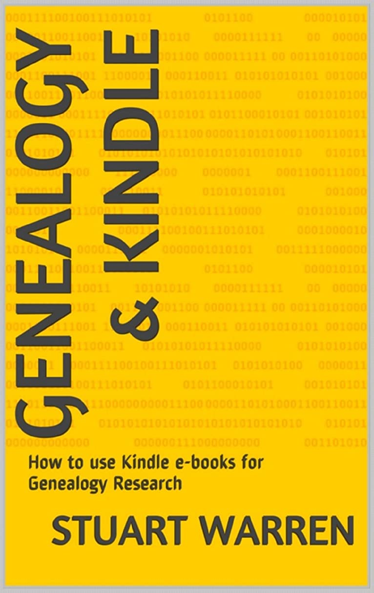 パンチパンチ簿記係Genealogy & Kindle: How to use Kindle e-book for Genealogy Research (English Edition)