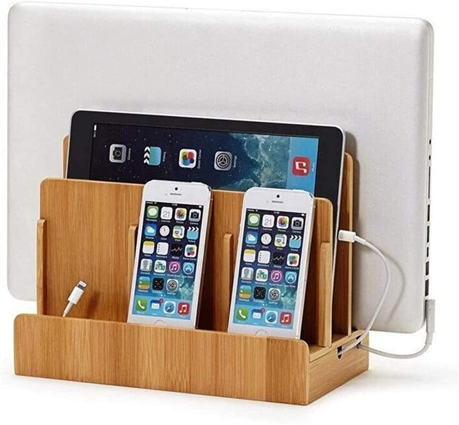 GJJSZ Router Rack Shelves Bamboo Management wit Max 47% OFF Spring new work one after another , Box Cable