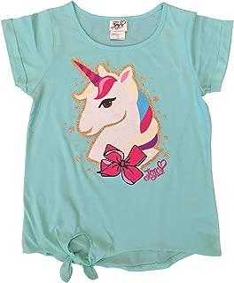 Ropeastar Unicorn Fashion - Conjunto de Ropa para niña, Camisa de Manga Corta, Pantalones Cortos, Vestidos o Conjuntos de Camisa/Falda