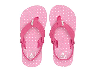 Reef Kids Little Ahi (Toddler/Little Kid) (Polka Dot) Girls Shoes