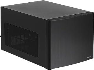 Fractal Design Node 304 - Caja de Ordenador de sobremesa para ATX(USB 3.0, 6 Compartimentos internos), Negro