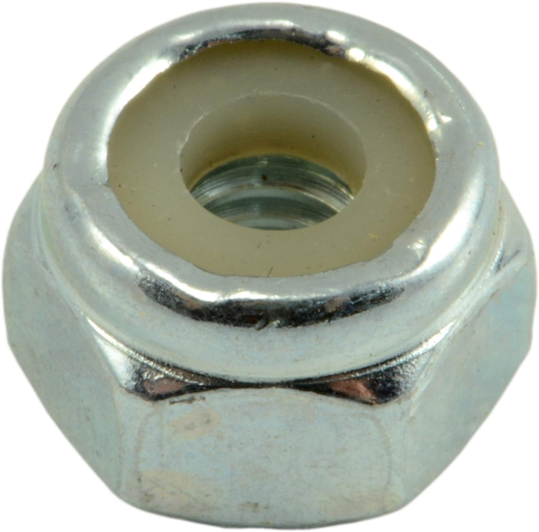 1//2-13 Hard-to-Find Fastener 014973284961 Coarse Nylon Insert Lock Nuts Piece-8