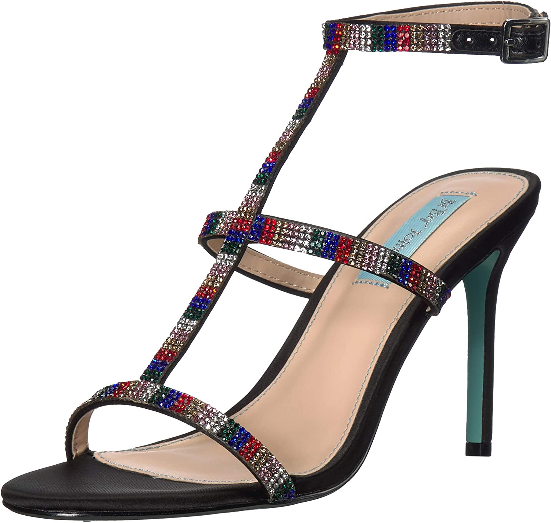 Betsey Johnson Women's Sb-Tate Heeled Sandal