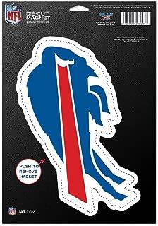WinCraft NFL Buffalo Bills 83707010 Die Cut Logo Magnet, Small, Black
