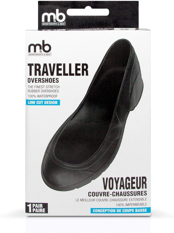 Moneysworth /& Best Snow Guard Traveller Overshoe