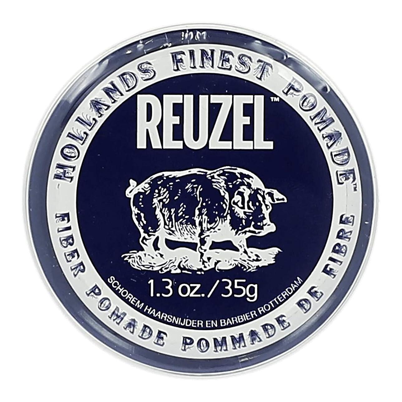 極小分解する階ルーゾー ネイビー ファイバー ポマード Reuzel Navy Fiber Pomade 35 g [並行輸入品]
