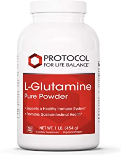 Protocol For Life Balance - L-Glutamine Pure Powder - Essential Amino Acid to Support Healthy Immune System, Promotes Gast...