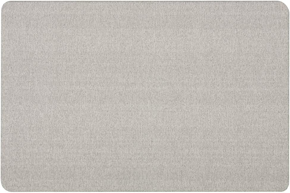 Quartet Bulletin Board for Walls Fabric Frameless Direct sale of manufacturer 3' Max 76% OFF Pin 2' x