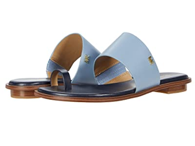 MICHAEL Michael Kors August Flat Sandal (Admiral/Pale Blue) Women