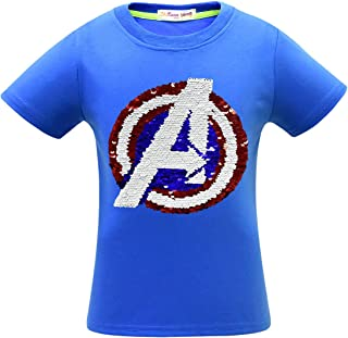 boys reversible sequin shirt