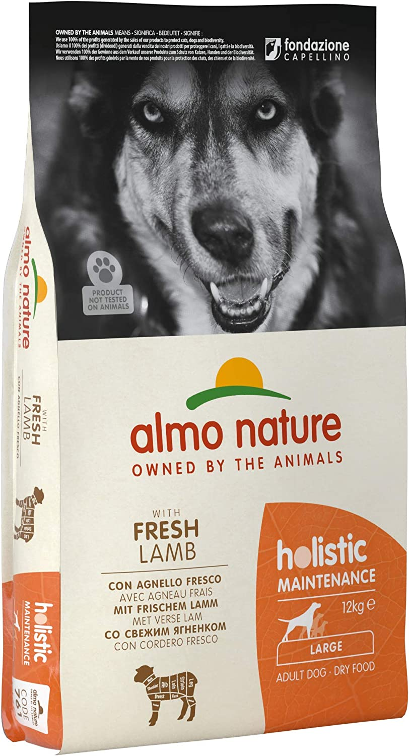 Almo Nature Dog Food Holistic Medium with Lamb and Rice 12 Kg