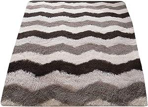 YTXTT Tapete de pelúcia macio, tapete moderno e simples, tapete para varanda, tapete antiderrapante para sala de estar em ...