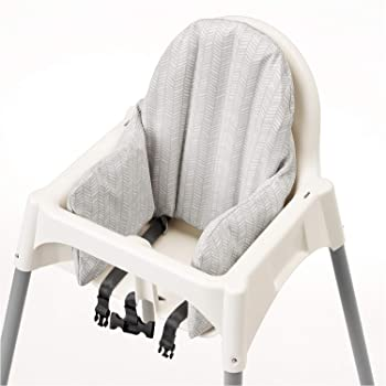 IKEA Antilop Highchair with Tray, White