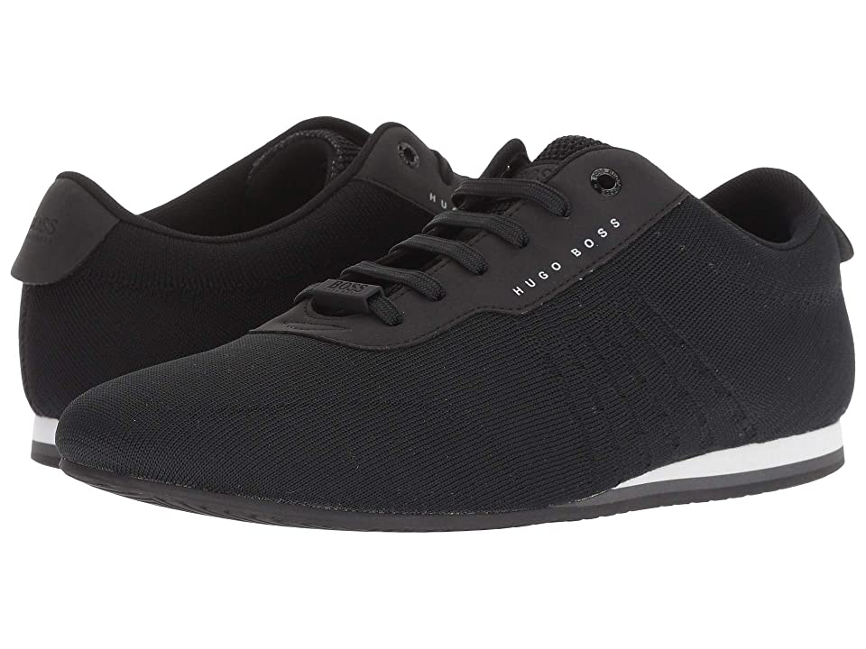BOSS Hugo Boss Ligher Sporty Knit Sneaker by BOSS Green (Black) Men