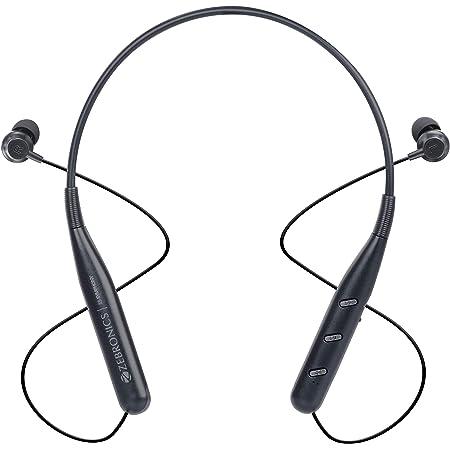 Zebronics Zeb-Symphony Wireless In Ear Neckband Earphone with BT 5.0, Dual Pairing, Call Function, Splash Proof, Magnetic Earpiece