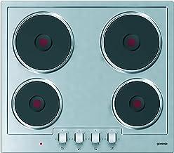 موقد كهربائي ستانلس ستيل بلت ان بأربع شعلات من جورنجي E6N1AX، 58 سم - فضي