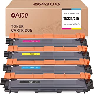 OA100 Compatible Toner Cartridge Replacement for Brother TN221 TN225 TN-221 TN-225 for MFC-9330CDW HL-3170CDW MFC-9130CW (...