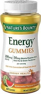 Nature's Bounty Energy Complex Gummies, 250 MCG, 60 Gummies
