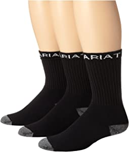 Ariat - Ariat Workboot Sock 3-Pack