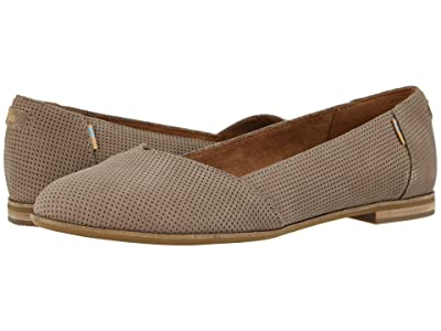 TOMS Julie (Taupe Grey) Women