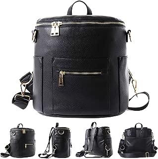 Mini Diaper PU Leather Backpack for Kids