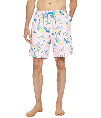 Nautica Sustainably Crafted 8 Tropical Print Swim Shorts