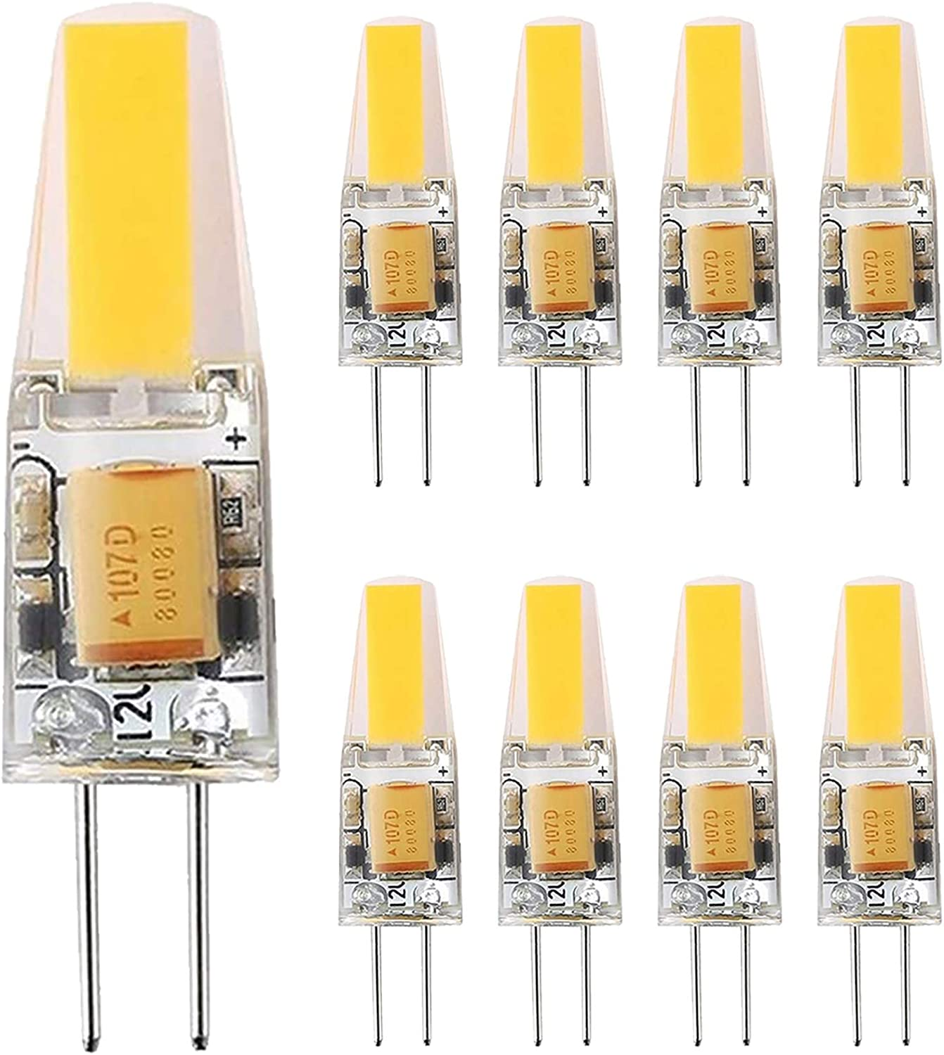 G4 Ranking TOP6 LED Bulb 6W Equivalent Halogen Indefinitely to bi-pin 50W 60W