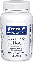 Pure Encapsulations - B-Complex Plus - Balanced B Vitamin Formula with Metafolin L-5-MTHF and Vitamin B12 - 120 Capsules