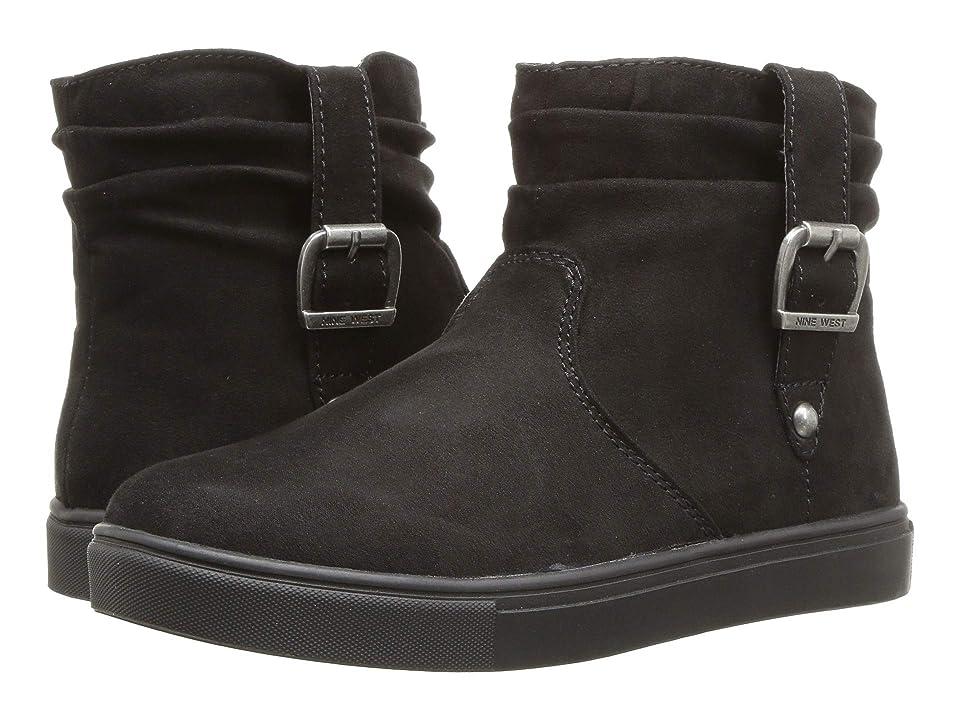 Nine West Kids Clotidah (Little Kid/Big Kid) (Black Micro) Girls Shoes